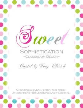 Classroom Decor Kit: Sweet Sophistication