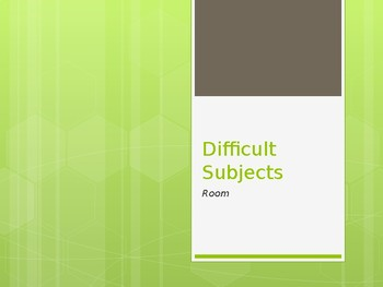 Room - Explaining Difficult Subjects