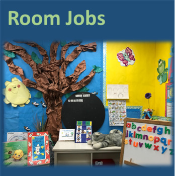 Room Jobs and Chores--Increase Verbalization, Responsibility--data collection