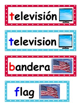 Room Labels Dual Language