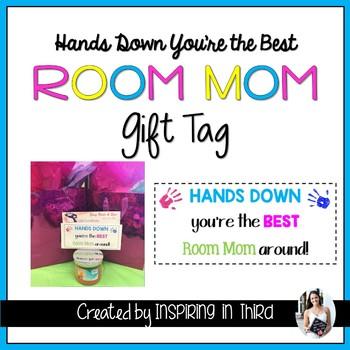 Room Mom Gift Tag