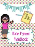 Room Parent Handbook