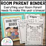 Room Parent ~ Room Mom Binder  Editable!