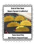 Room Parent Thank you Craftivity!