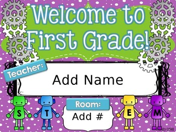 Room Posters (STEM-sational Theme)