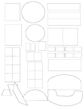 Set Up Your Classroom on Paper!! Room Set-Up Chart - Master Planner - PP