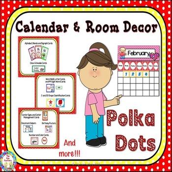 Room Theme ~ Polka Dots {Editable}