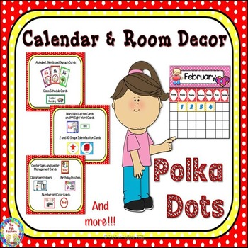 Room Theme ~ Polka Dots {Editable}