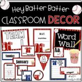 Classroom Decor - Baseball