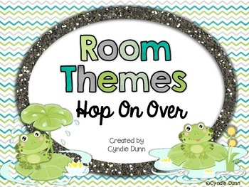 Room Themes: Frogs