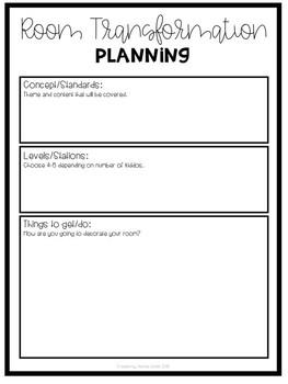 Room Transformation Planning