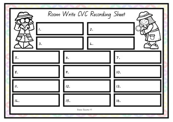 Write the Room - CVC Set 3