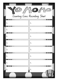 Write the Room – Counting Coins AUSTRALIAN CURRENCY