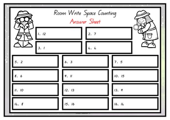 Write the Room - Space Counting