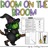Room on the Broom Book Activities - Halloween Reading and