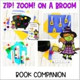 Room on the Broom- Book Companion - Preschool Letter B