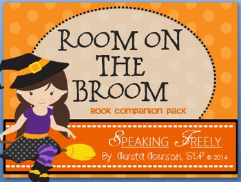 Room on the Broom Book Companion Vocabulary Packet