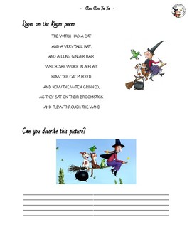 Room on the Broom Booklet