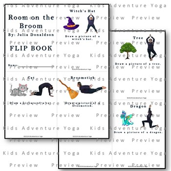Room On The Broom Kids Yoga Activities Set By Kids Adventure Yoga