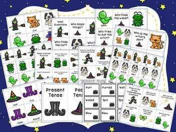 Room on the Broom Companion Packet for Speech Therapy