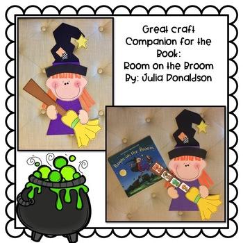Room on the Broom Craft: Halloween Crafts: October Crafts: Fall Crafts