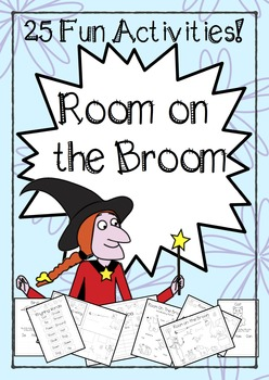 Room on the Broom Inspired Craft and Vocabulary Activities