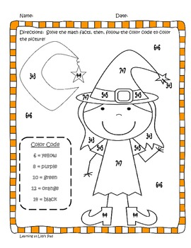 """Room on the Broom"": Fall Fun Language Arts and Math Activities"