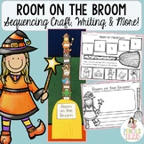 Room on the Broom Freebie - Sequencing Craft, Cut & Paste, and Writing Prompt!