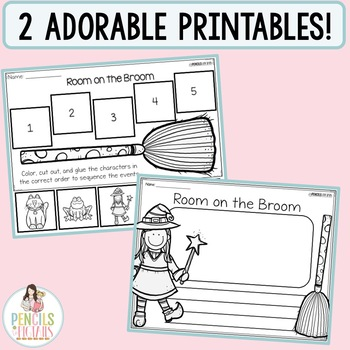 Room on the Broom Sequencing Craft