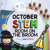 Room on the Broom Halloween READ ALOUD STEM™ Activity with Distance Learning