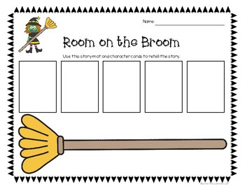 Room on the Broom: Hands-On Activities