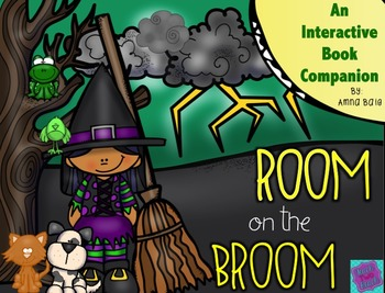 Room on the Broom Interactive Book Companion and Craft