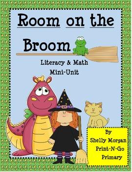 Room on the Broom Literacy and Math Mini-Unit