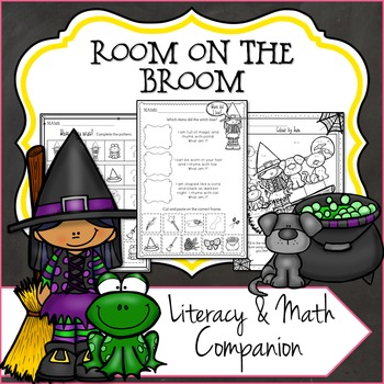 Room on the Broom Inspired Literary and Math Companion