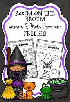 Room on the Broom Inspired Literary and Math Freebie
