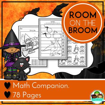 Room on the Broom Inspired Math Companion