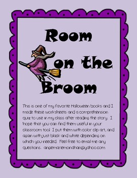 Room on the Broom Mini-Unit
