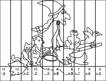 Room on the Broom Mystery Puzzle