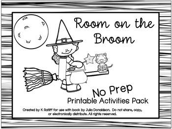 Room on the Broom :  No Prep Book Companion