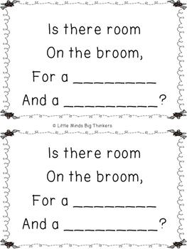 Room on the Broom Rhyming Activity