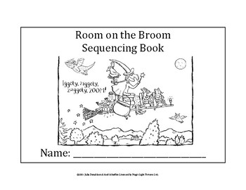 Room on the Broom Sequencing Book