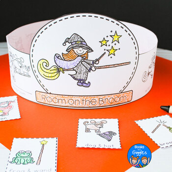 Room on the Broom - Sequencing Hats
