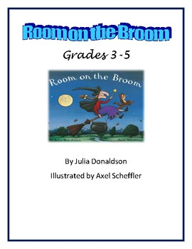 Room on the Broom Sequencing Lesson Plan