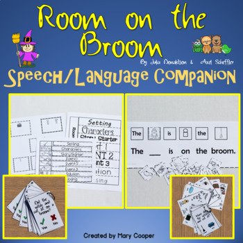 Room on the Broom: Speech/Language Companion
