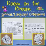 Room on the Broom: Speech/Language Book Companion