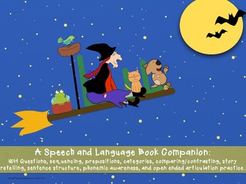 Room on the Broom: Speech and Language Activities by Kaylyn Johnson
