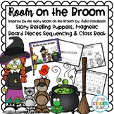 Halloween Room on the Broom Craft, Story Retelling Puppets & Class Book