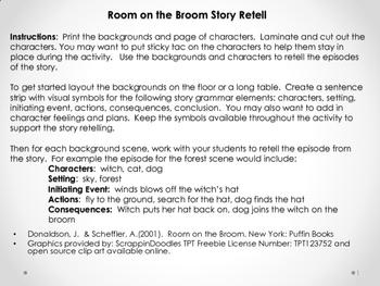 Room on the Broom Story Retell