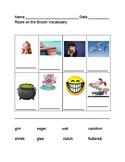 Room on the Broom Vocabulary