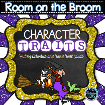 Room on the Broom - Word Wall Cards and Writing